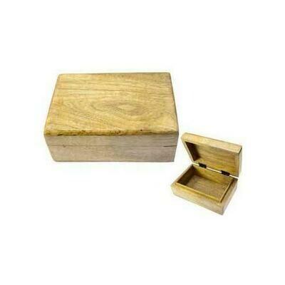Natural wood box 4