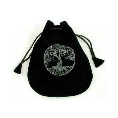 Tree of Life Velveteen Bag