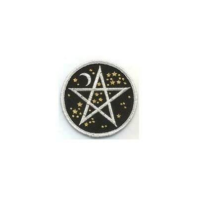 Starry Pentagram iron-on patch 3
