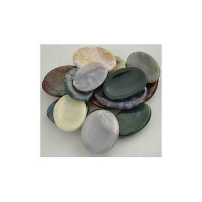 Jasper Worry stone - various Colors & Patterns