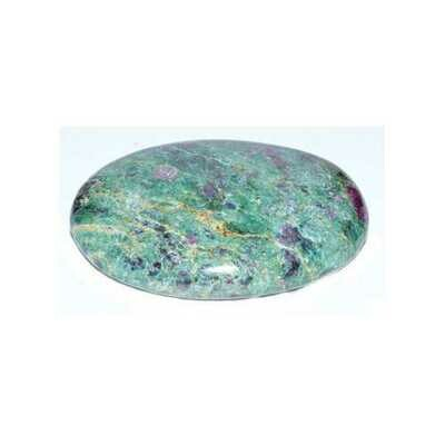 Ruby Zoisite palm stone