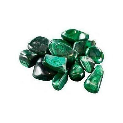 1 lb Malachite tumbled stones