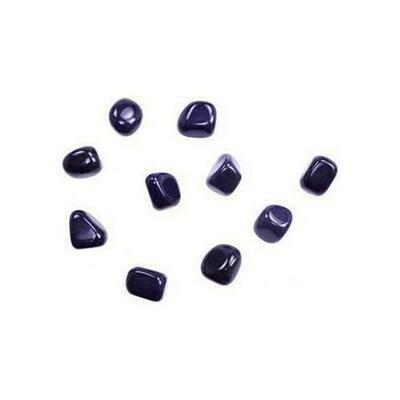 1 lb Blue Goldstone tumbled stones