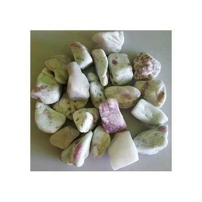 1 lb Tourmaline, Pink tumbled stones