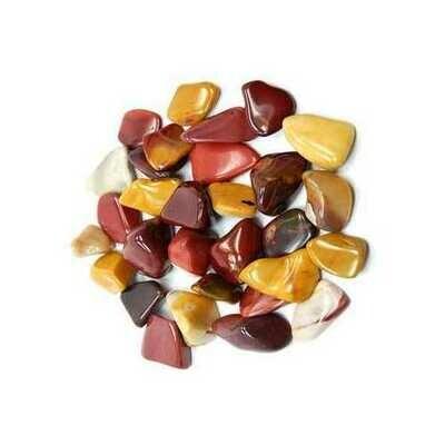 1 lb Mookaite tumbled stones