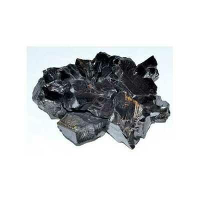 1 lb Shungite, Silver untumbled stones