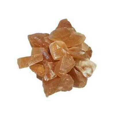 1 lb Homey Calcite untumbled stones