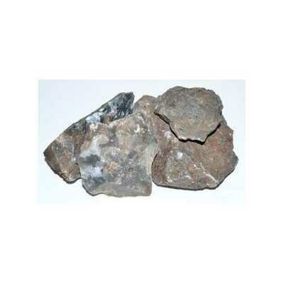 1 lb Moss Agate untumbled stones