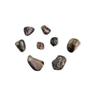 1 lb Rhodonite tumbled stones