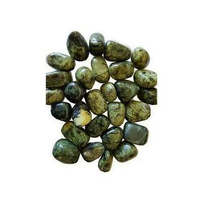 1 lb Asterite Serpentine tumbled stones