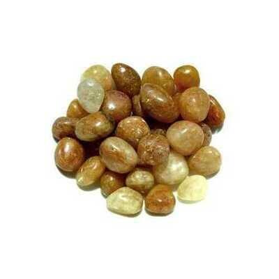 1 lb Topaz, Natural tumbled stones