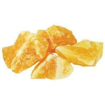 1 lb Orange Calcite untumbled stones