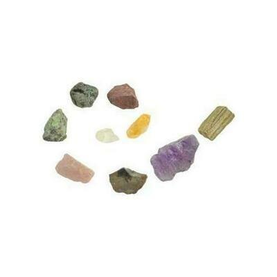 1 lb Mixed untumbled stones