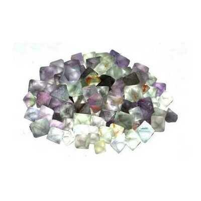 1 lb Flourite green octahedral