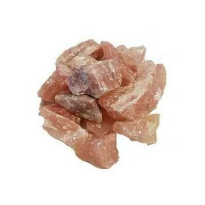 1 lb Pink Calcite untumbled stones