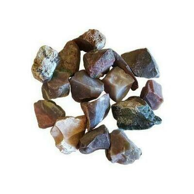 1 lb Jasper, Fancy untumbled stones