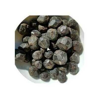 1 lb dark red Garnet untumbled stones