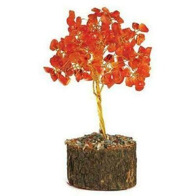 Carnelian Gemstone Tree - New Design**