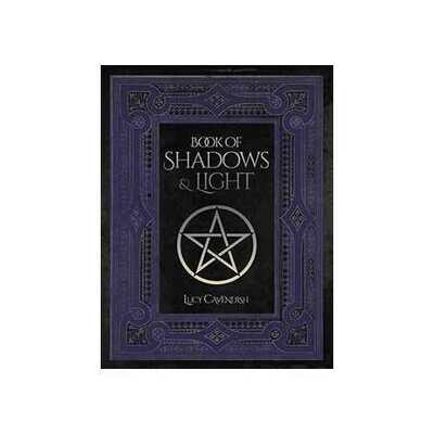 Book of shadows & Light lined journal by Lucy Cavendish