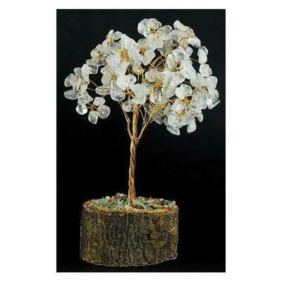 Clear Quartz gemstone tree 160 beads
