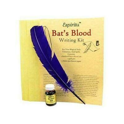 Bat's Blood writing kit