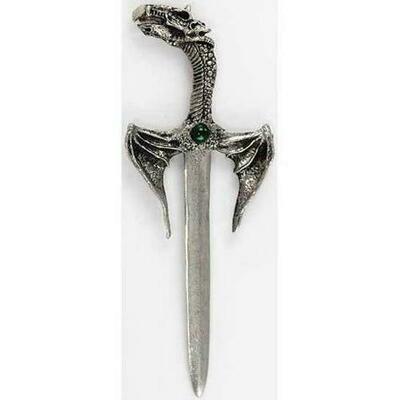Winged Dragon Letter Opener 5 1/2