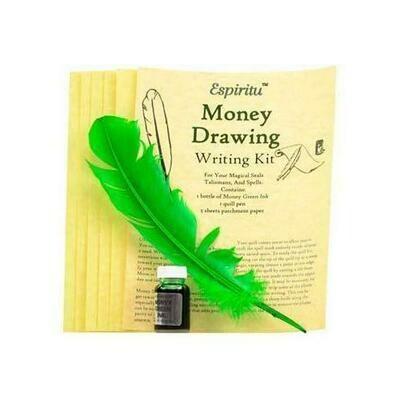 Money Drawing writing kit