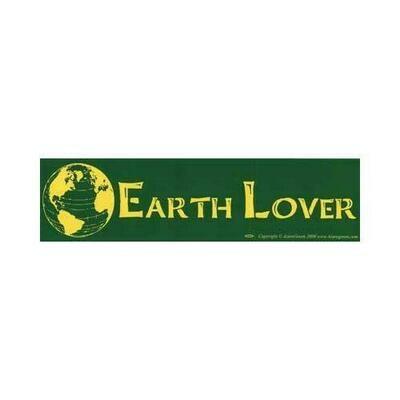 Earth Lover bumper sticker