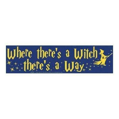 Where There's a Witch...