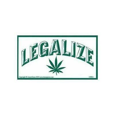 Legalize Marijuana bumper sticker