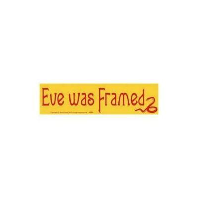 Eve Was Framed