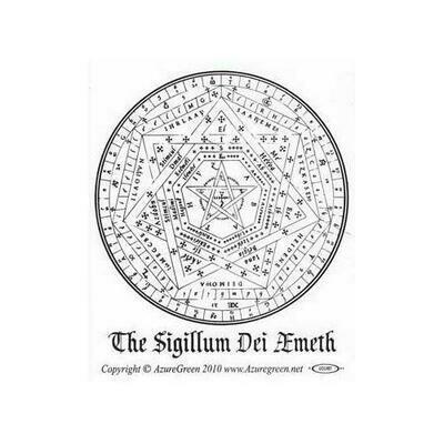 Sigillum Dei Aemeth bumper sticker