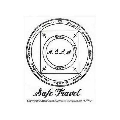 Safe Travel bumper sticker