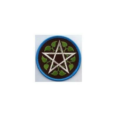 Leafy Pentagram patch 3