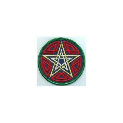 Celtic Pentagram patch 3