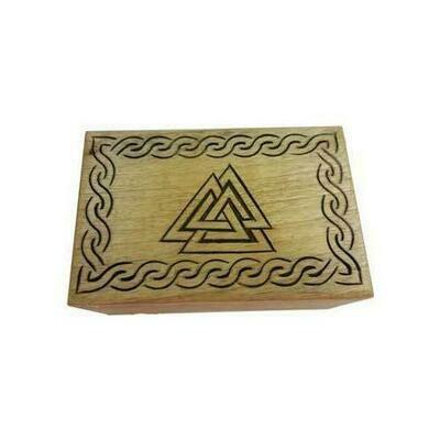 Triangle wood box 4