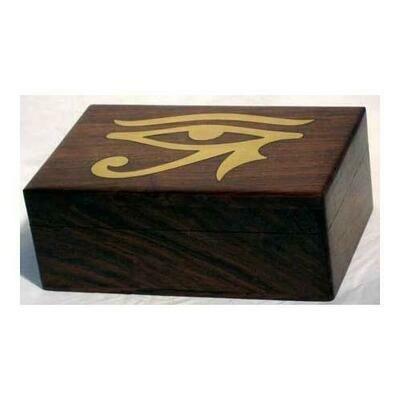 Brass Inlaid Eye of Horus Box 4