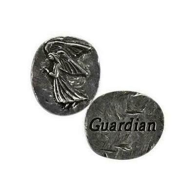 Guardian Angel pocket stone
