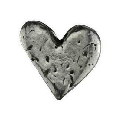 Heart pocket stone
