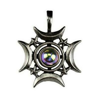 Crescents Rising Celestial amulet