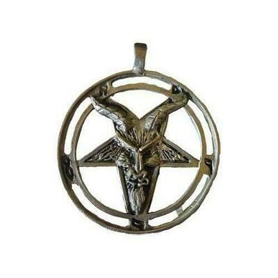 Baphomet Goat amulet