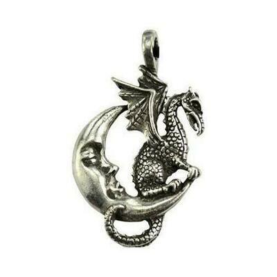 Midnight Dragon amulet