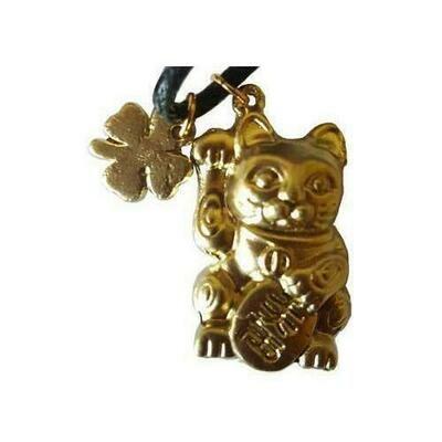 Chinese Money Cat amulet