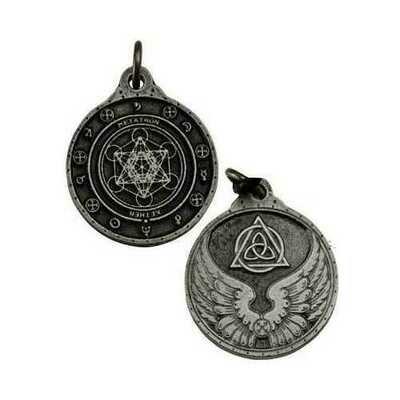 Metatron talisman silver color