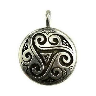 Triskele Shield amulet