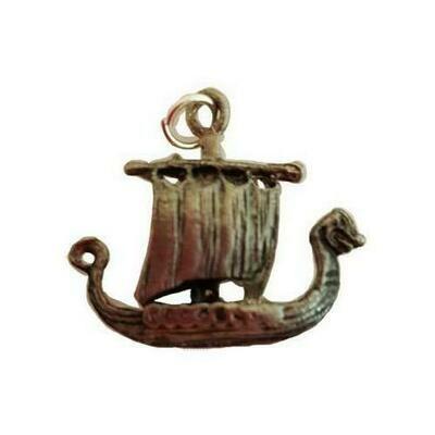Viking Ship amulet