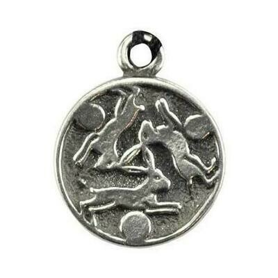 Hare Trinity amulet