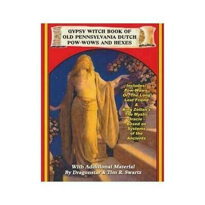 Gypsy Witch Book of Old Pennsylvania Dutch Pow-Wows & Hexes by Dragonstar/Inner Light