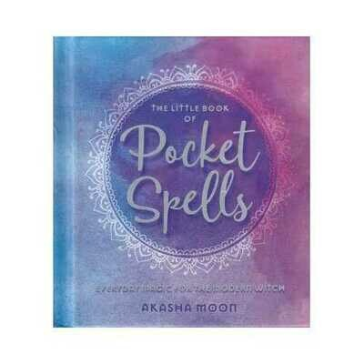 Little Book of Pocket Spells (hc) by Akasha Moon