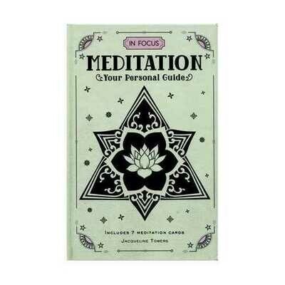 Meditation, your Personal Guide (hc) by Jacqueline Towers